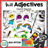 Adjective Game Cards: First and Second Grade Activities fo