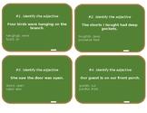 Adjective Chalkboard Game