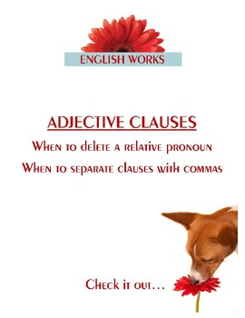 Adjective Clauses