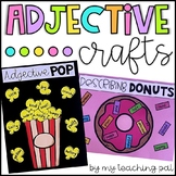 Adjective Craftivities - Popcorn, Donut and Quilt