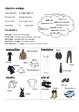 Adjective Endings and Clothes in German - Kleidung und Adjektive