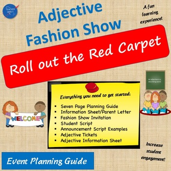 Adjective Fashion Show Planning Guide and Resource Pack