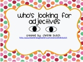Adjective File Folder Game