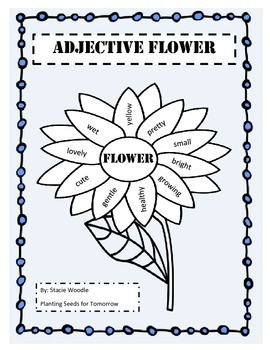 Adjective Flower