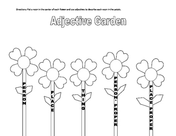 Adjective Garden