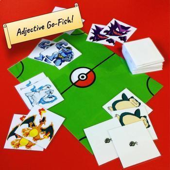 Adjective Go-Fish (Pokemon version!)