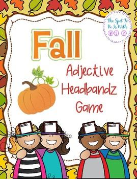 Adjective Headbandz - Fall Themed