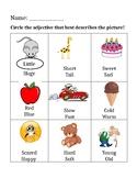 Adjective Homework
