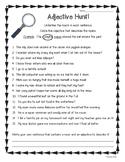 Adjective Hunt!  Practice Worksheet