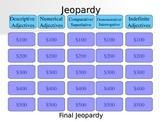Adjective Jeopardy