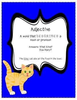 Adjective Lesson Bundle