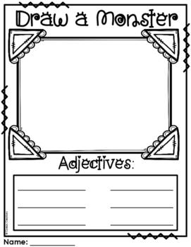 Adjective Monster