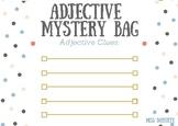 Adjective Mystery Bag