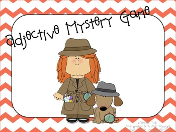 Adjective Mystery Game