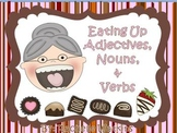 Adjective, Noun, & Verb Sort Literacy Center