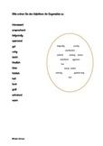 Adjective Opposites worksheet