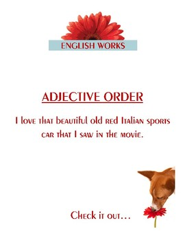 Adjective Order