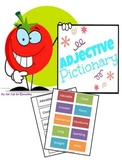 Adjective Pictionary Set with 90 cards