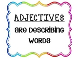 Adjective Posters (PDF)