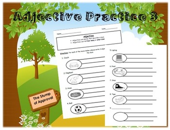 Adjective Practice 3