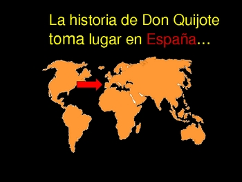 Adjective Practice Using Don Quixote & Sancho Panza