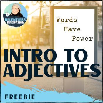 Adjective Practice Worksheet