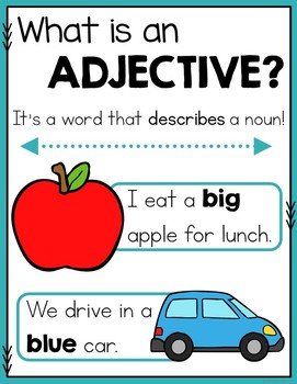 Adjective Practice and Activities