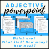 Adjective Presentation and Fill-in-the-Blank Student Notes