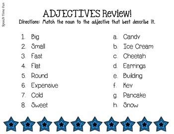 Adjective Puzzles!