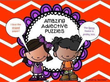 Adjective Puzzles