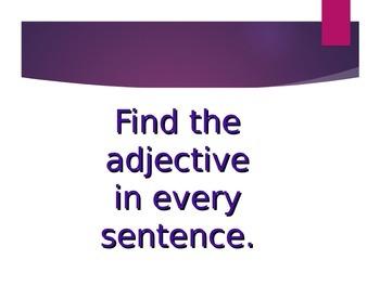 Adjective Quiz