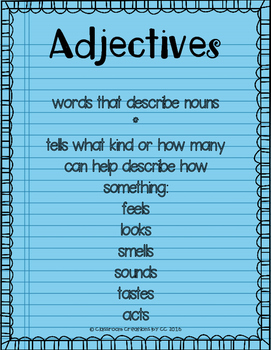 Adjective Review Bootcamp