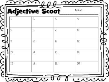 Adjective Scoot Jr.