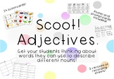 Adjective Scoot Game Task Cards