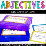 Adjectives Task Cards or Scoot
