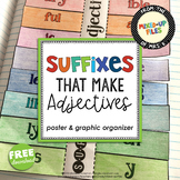 Adjective Suffixes Free