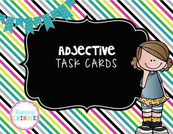 Adjective Task Cards (2 Sets)