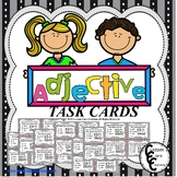 Adjective Task Cards (Parts of Speech)
