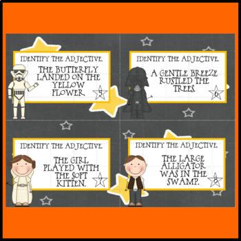 Adjective Task Cards