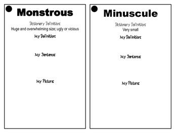 Adjective Task Cards: 40 Adjectives to Spice Up Your Students' Writing