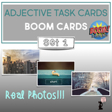 Adjective BOOM Cards™ Task Cards : Set 1
