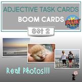 Adjective BOOM Cards™ Task Cards : Set 2