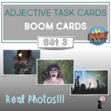 Adjective BOOM Cards™ Task Cards : Set 3