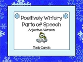 "Adjective Task Cards ""Winter Themed"""