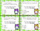 Adjective Task Cards (size, shape, number, color)
