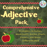 ADJECTIVES Unit Parts of Speech Activities