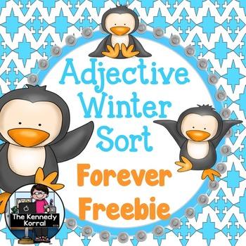 Adjective Winter Sort {Center}