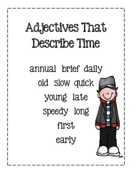 Adjective Word Posters