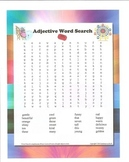 Adjective Word Search (Free!)