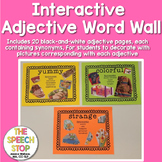 Adjective Word Wall - Interactive